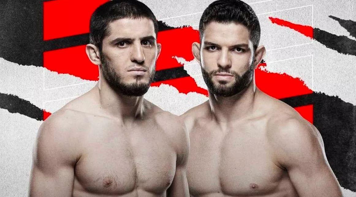Islam Makhachev vs. Thiago Moises is new UFC Vegas 31 headliner